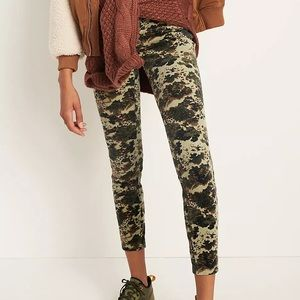 NWT Pilco high rise skinny corduroy button fly